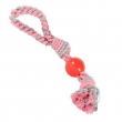 Little rascal  rope ball tug pasteltint