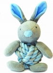 Little rascals knotted bunny (Blauw of roze)