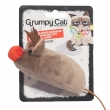 Grumpy cat Renider muis red nose 18 cm